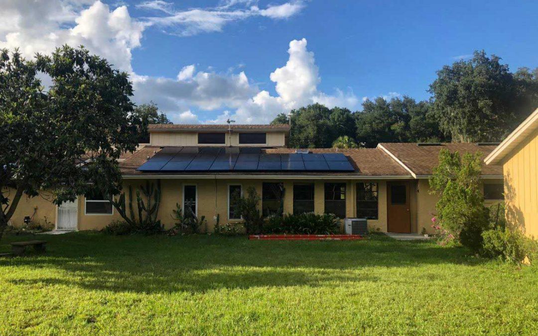 Solar pv system installed in Apopka