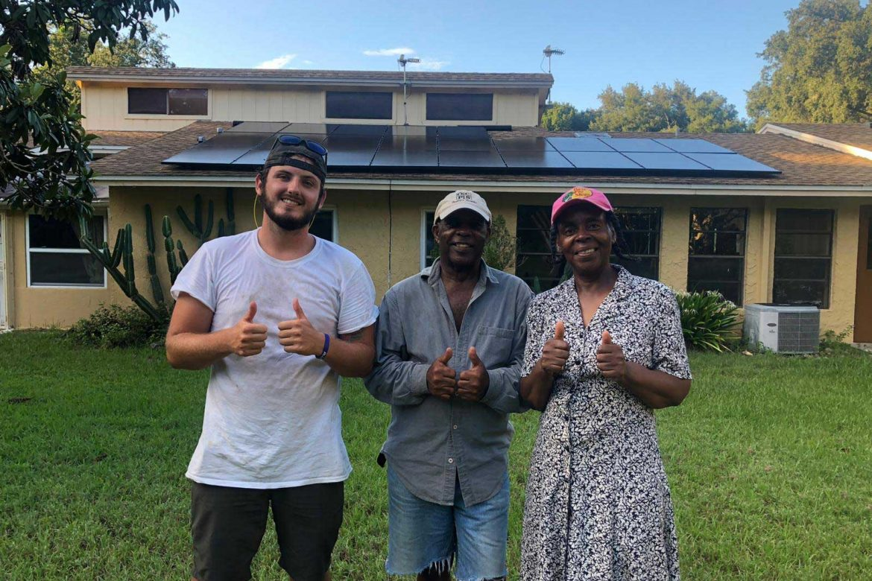 Mr & Mrs Williamson | Solar Panel Installation Customer in Apopka, Florida